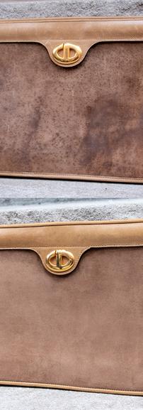Dior Suede Panel Restoration
