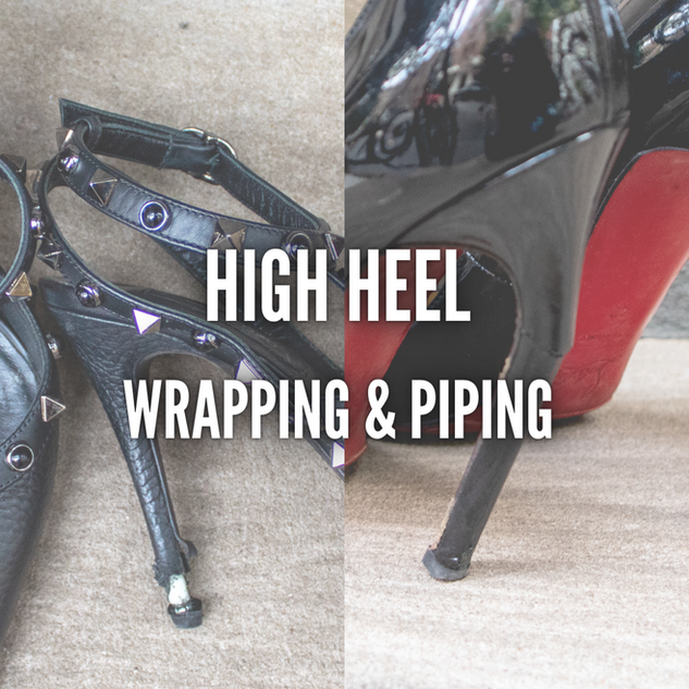 HIGH HEEL WRAPPING & PIPING