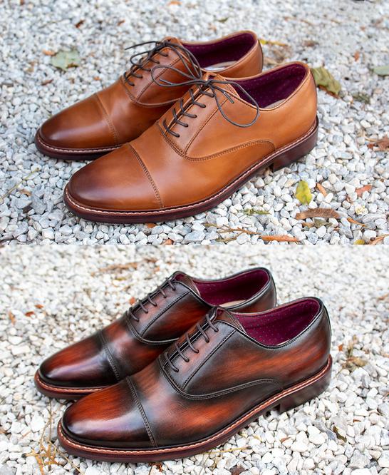Patina Restoration on Men's Dress Shoes