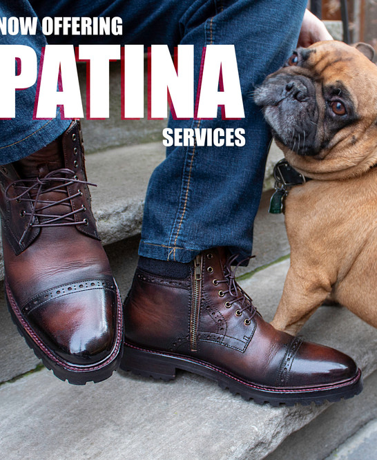 Now Offering Patina Services