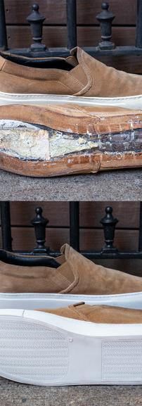Common Projects Slip-on Sneaker Sole Restoration
