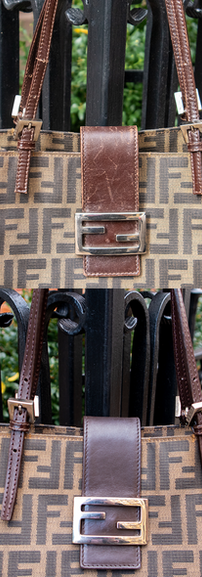 Fendi Leather Restoration and Reconditioning
