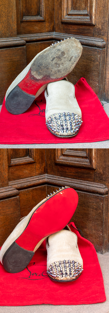 Men's Louboutin Shoes: Mirror Soles