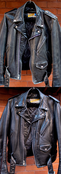 Leather Jacket Reconditioning Restoration