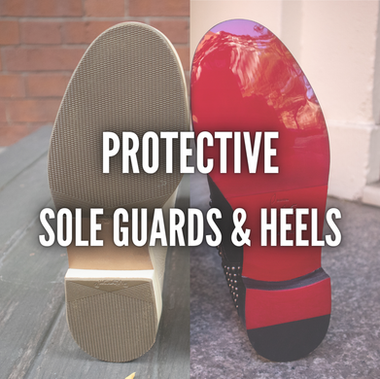 PROTECTIVE SOLE GUARDS & HEELS