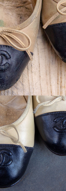 Chanel Flats: Touch Up Repair