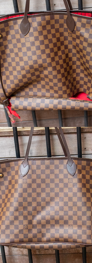 Louis Vuitton Neverfull Shortening Restoration
