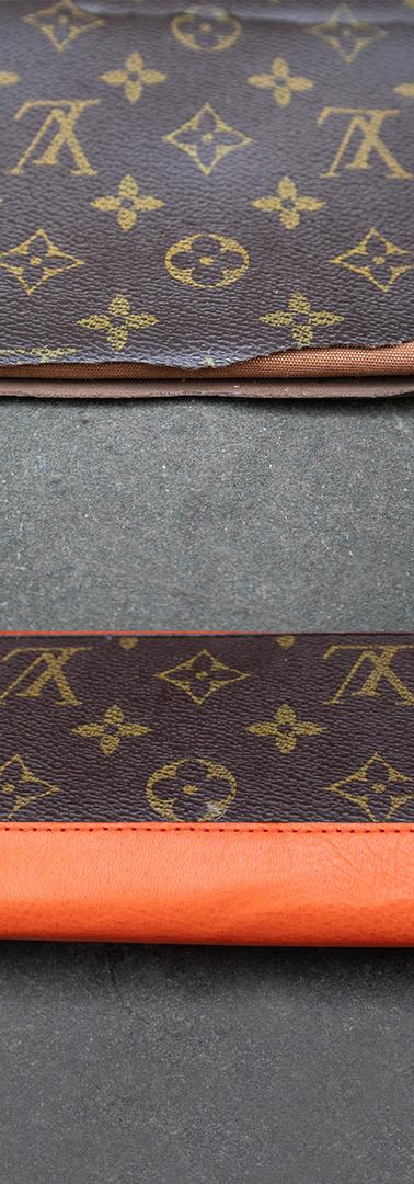 Louis Vuitton Wallet Custom Restoration