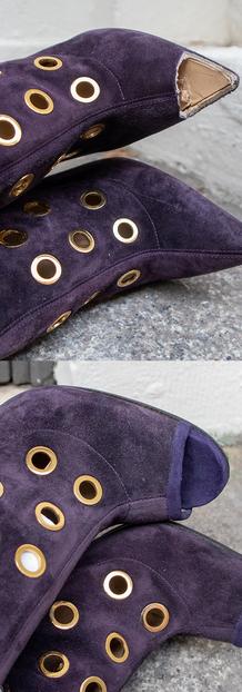 Custom Louboutin Restoration (Peep Toe)