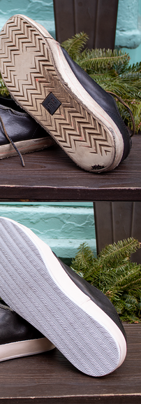 Leather Sneaker Sole Restoration