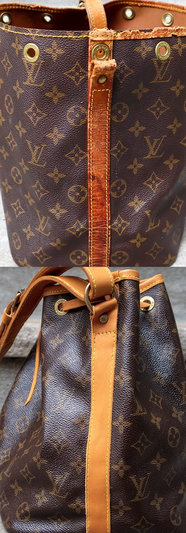 Louis Vuitton NOE Vachetta Leather Restoration