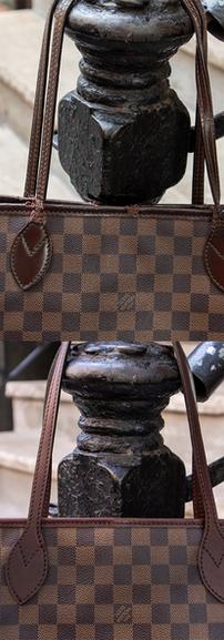 Louis Vuitton Neverfull Vachetta Leather Restoration