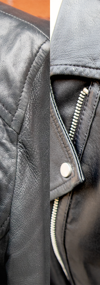 Leather Jacket Leather Panel Replacement Restoration