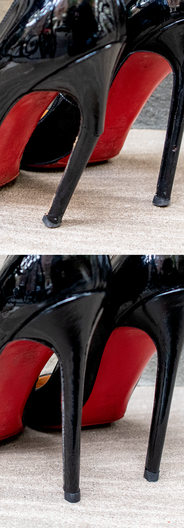 Rewrapping and Repiping High Heels
