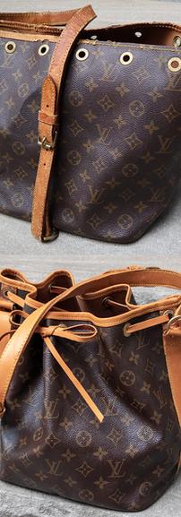 Louis Vuitton NOE Vachetta Leather Restoration