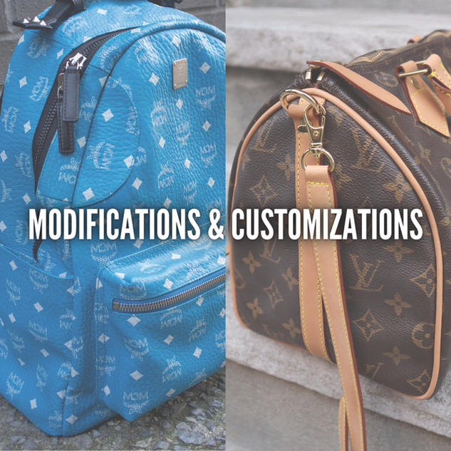 MODIFICATIONS & CUSTOMIZATIONS