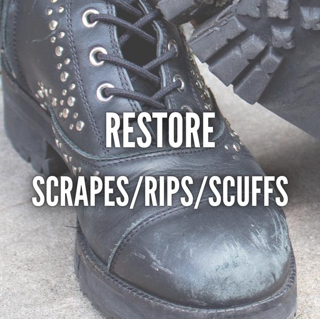 RESTORE SCRAPES/RIPS/SCUFFS