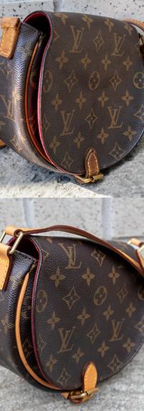 Louis Vuitton Crossbody Vachetta Leather Restoration