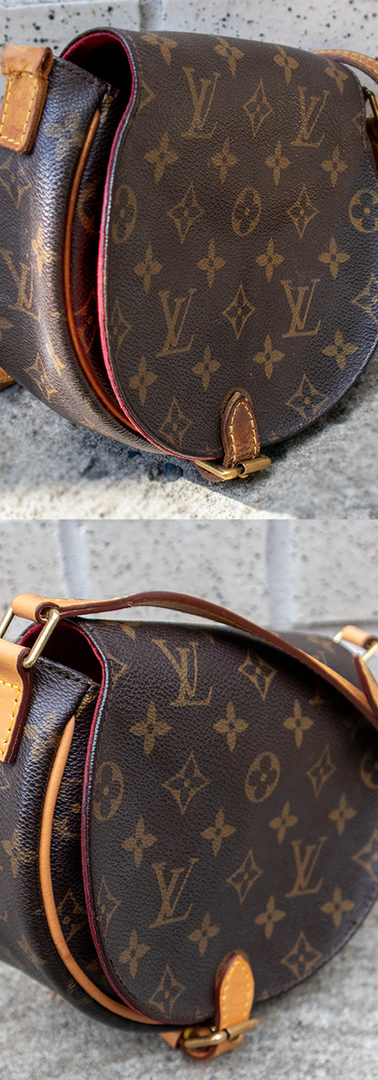 Louis Vuitton Crossbody Vachetta Leather Restoration