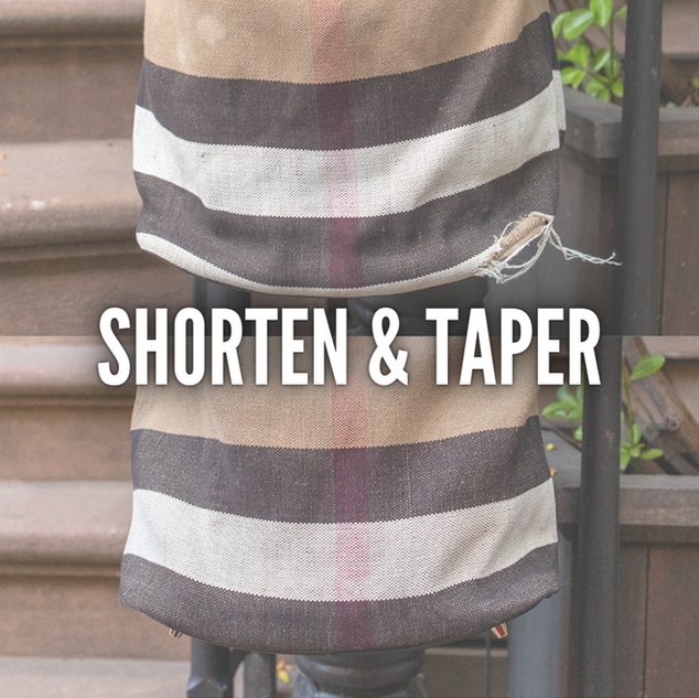 SHORTENING & TAPERING