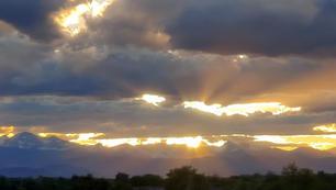 Corpuscular Sunset