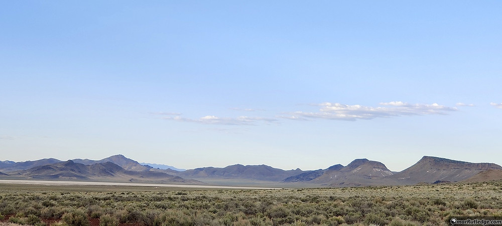 Volcanic Plains in Nevada