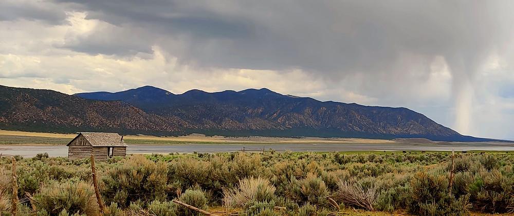 A Lone Cabin in Utah