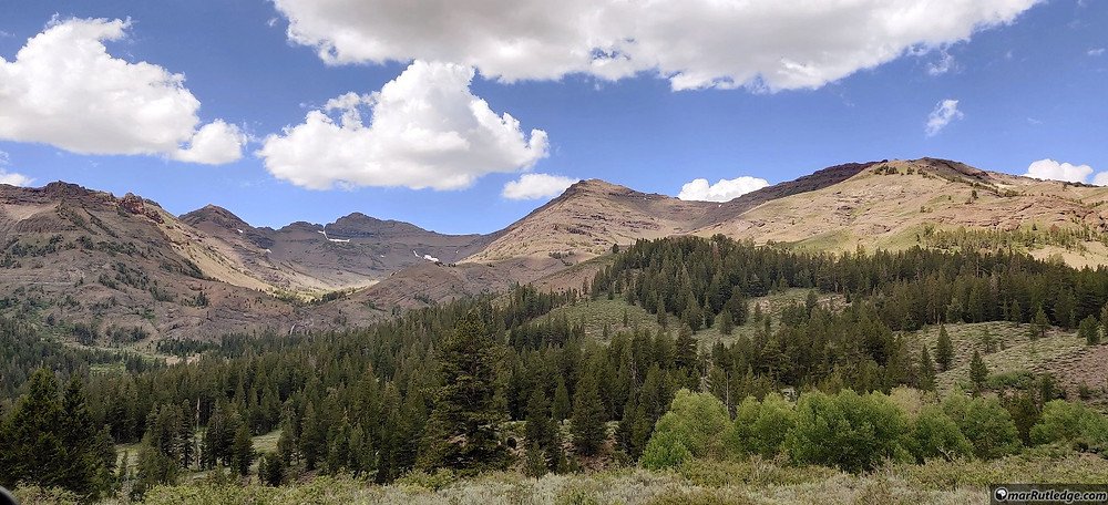 Mountains in Stanislaus National Park, CA