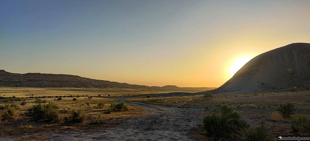 Sunset near Moab, UT