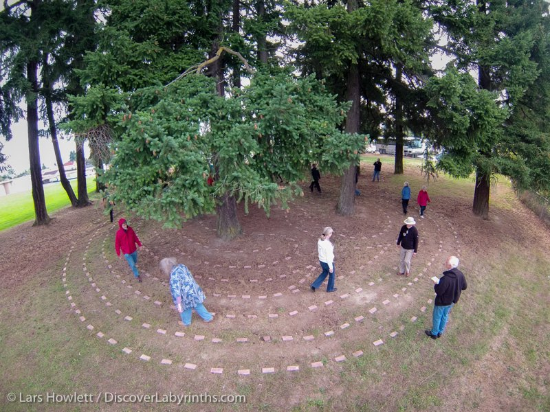 Vancouver Island Labyrinth Pilgrimag