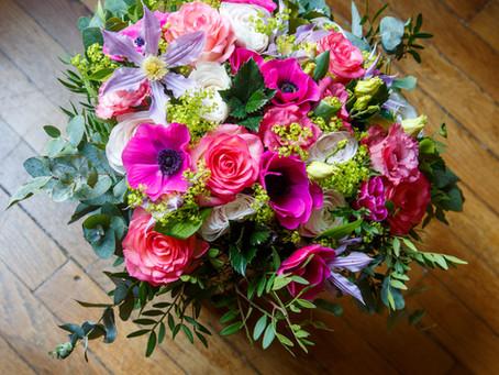 Offrir des fleurs de saison