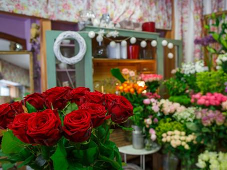 Offrir des roses à la Saint-Valentin