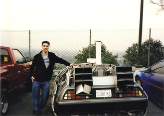 Deloreon Universal Studios back lot 1999