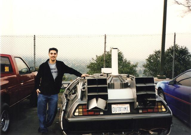 Deloreon Universal Studios back lot 1999