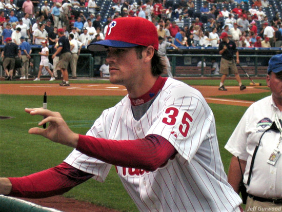 Philly Sports Cole Hamels (22) 2006