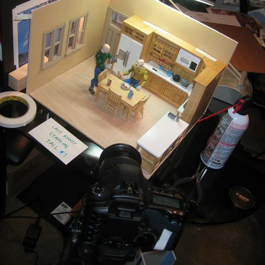 Last Randy Standing animation shoot 2008 37