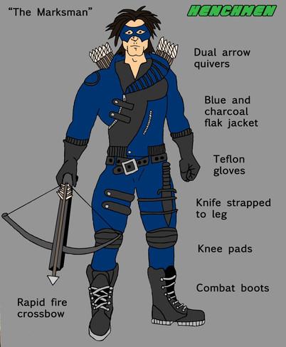 Marksman Character sheet