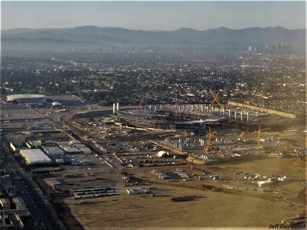 Aerial Photography (29) SoFi Stadium LA 2018