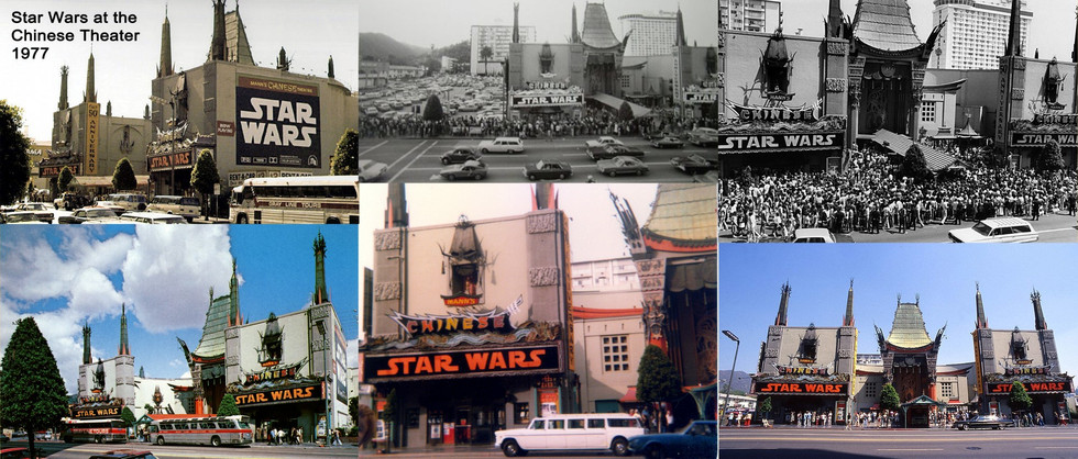 Star Wars at the Chinese 1977