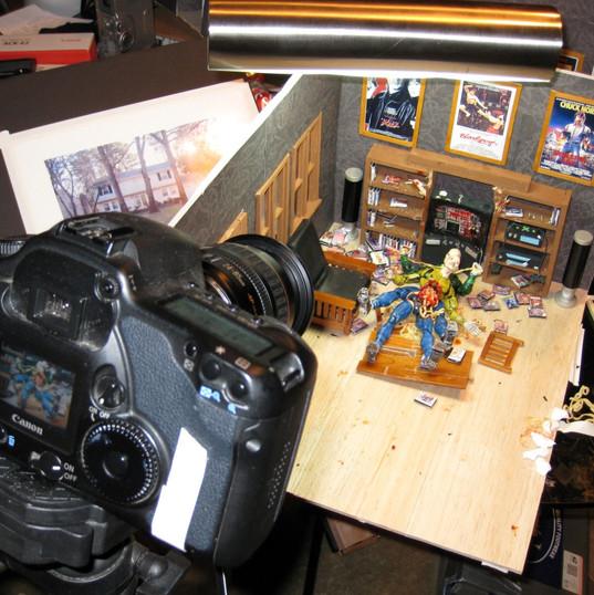 Last Randy Standing animation shoot 2008 27