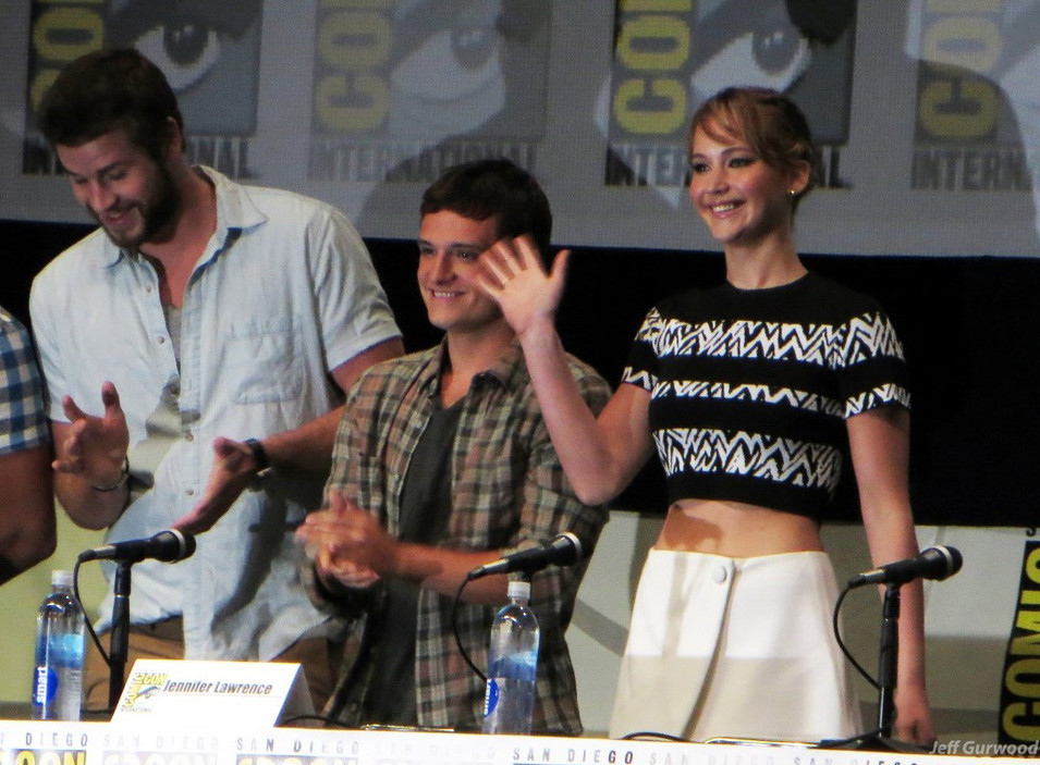 Hunger Games Comiccon panel 2013