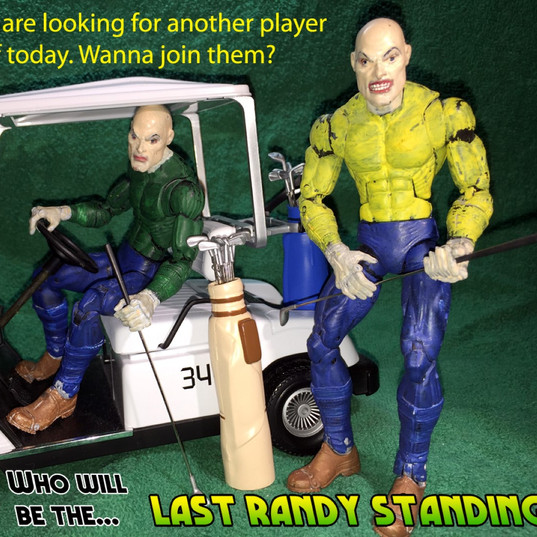 Last Randy Standing animation shoot 2008 4