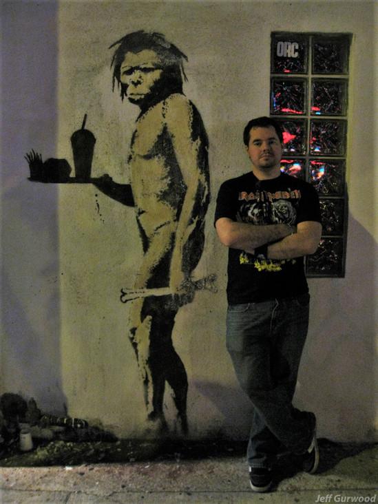 Banksy and Sean 2009