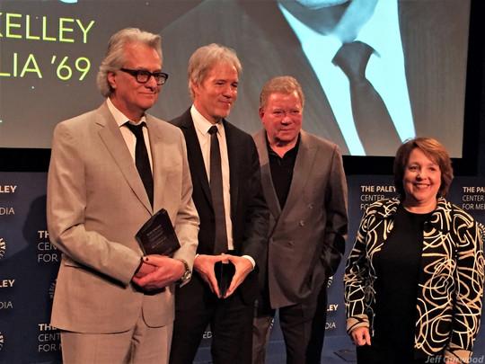 Rod Serling Awards David E Kelley Bill D'Elia William Shatner 2017