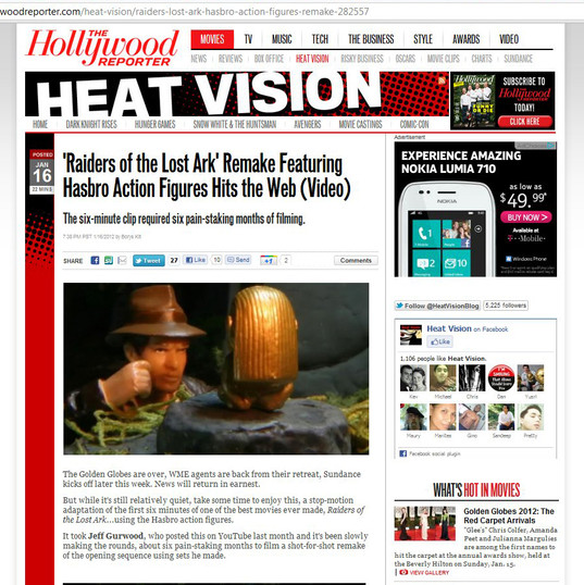 Indyanimation on Hollywood Reporter