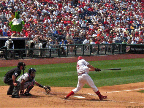 Philly Sports Jim Thome and The Phanatic 2004