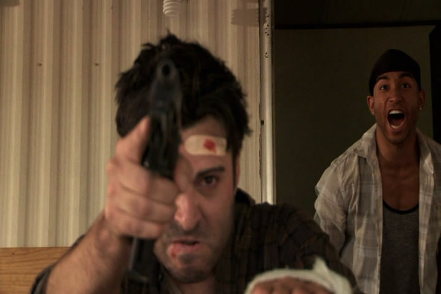 Playing a Methhead in the movie Busdriver 2014