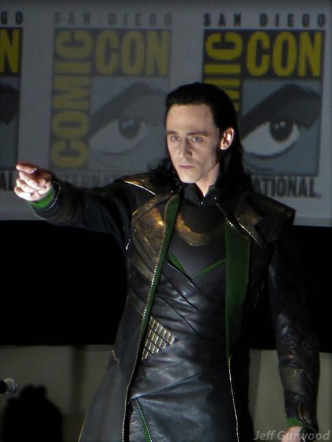 Tom Hiddleston LOKI comiccon 2013