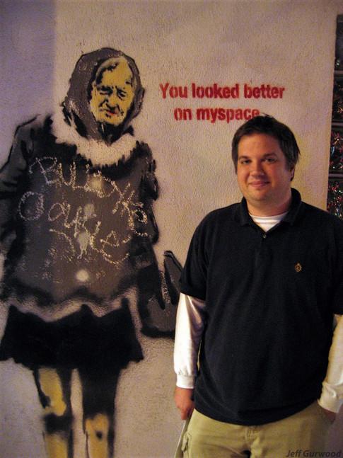 Banksy and Lee 2007