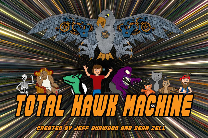 1. Total Total Hawk Machine Vortex Tv concept